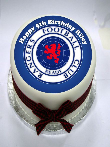 Rangers Edible Cake Topper